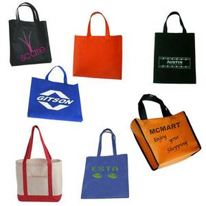 Wholesale non-woven bags: Recycled Non-Woven Shopping Tote Bag