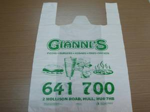 Wholesale Packaging Printing: HDPE  Plastic  Bag
