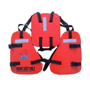 Wholesale work platform: Oil Platform EPE Foamed Polyethylene Lifesaving Work Vest