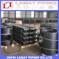 ASTM B16.9 A234 WPB A105 JIS B2311 Seamless Steel Butt Weld Pipe Fittings