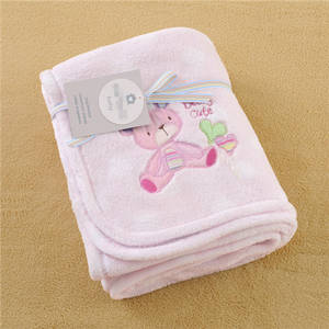 Wholesale coral fleece: Coral Fleece Baby Blanket