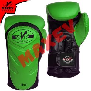 Wholesale gloves mold: Green/Black Boxing Gloves