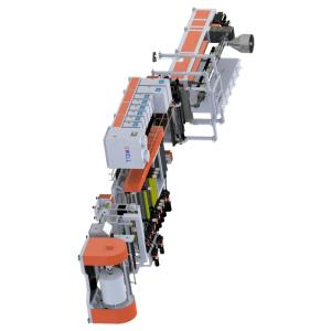 Wholesale plastic recycling washing machine: Stone Paper Stretch Film Extrusion Line