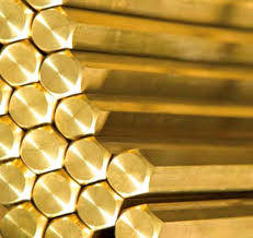 Wholesale Wires, Cables & Cable Assemblies: Hexagonal Brass Rod/Bar
