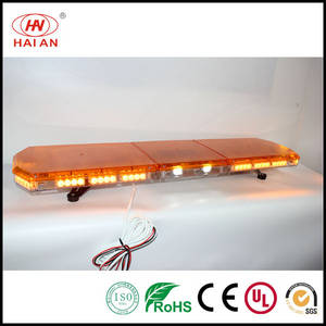 Wholesale police light: Safety Vehicles Amber Dome Take Down Light Safety Vehicles LED Lightbar Ambulance/Fire Engine/Police