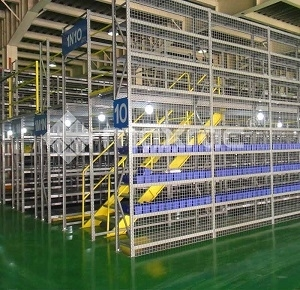 Sell Racking supported mezzanine