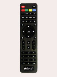 Wholesale Set Top Box: SPARE REMOTE CONTROL UNIT - Maxx TV