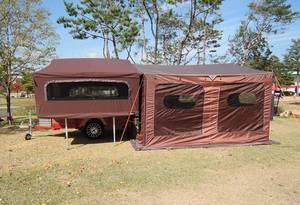 Wholesale camping trailer: High Quality New Korean Style Trailer Tent Trailer Camper Trailer