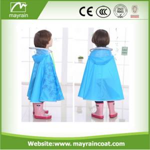 Wholesale cartoon style: Cartoon Style Hooded Baby Beach children poncho