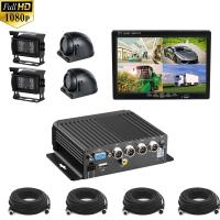 Hikway Mdvr Kit 4ch 1080p Vehicle CCTV Kit with SD Type Mobile DVR Waterproof Night Vision Cameras