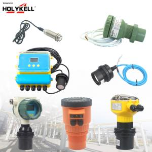 Wholesale entirely waterproof: Holykell Non Contact Ultrasonic Liquid Level Sensor