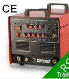 Wholesale ac/dc: 200Amp/240V AC/DC PULSE TIG 3in1 Welder Plasma SUPER200P