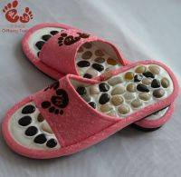 Wholesale Body Massager: Riverstone Soft Massage Slippers