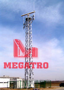 Wholesale steel tower: Angular Steel Torch Tower