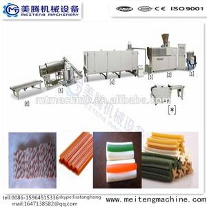 Wholesale dog food production line: 100kg/H Capacity Dog Food Chewing Gum Making Machine