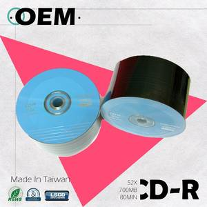 Wholesale hardware: OEM Blank CD-R 52X 700MB