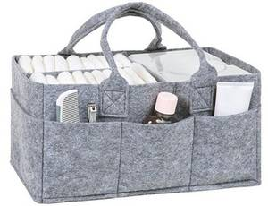 Wholesale Diaper/Nappy Bags: Diaper Caddy Organizer Felt for Sales