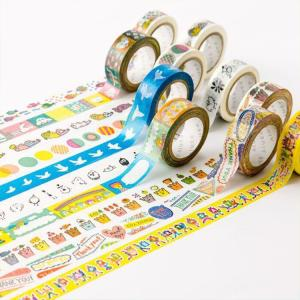 Wholesale waterproof tape: Waterproof Free Samples Box Starry Sky Washi Tape for Wrapping