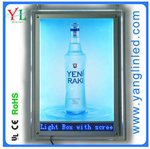 Wholesale day light: 2016 Christmas Day Product for Advertising Light Box LED Acrylic Light Box