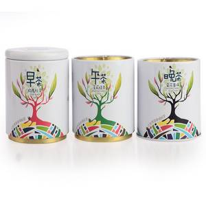 Wholesale dinner set: Speicial Customed Three Cans Tea Sets for Morning, Moon, Dinner Tea