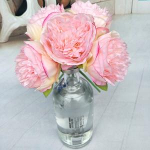 Wholesale artificial flower: Factory Price Wholesale Peony, Artificial Peony Flowers