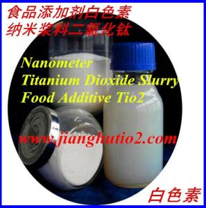 Wholesale nano crystallized: Nano Titanium Dioxide Slurry Food Additive TIO2