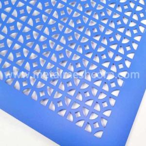 Wholesale pvc sheets for waterproofing: Decorative Hole Aluminum Perforated Sheet