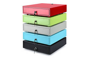 Wholesale vertical drawer combination: Mini Colorcful Cash Drawer for POS Register