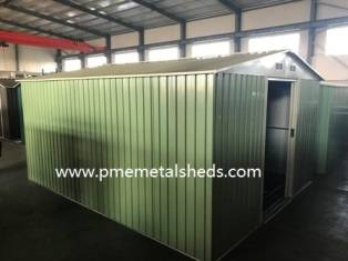 Sell 10 X 12 FT Apex Metal Shed 322 X 364 CM Garden Storage