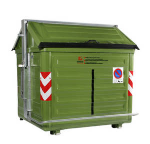 Wholesale waste container: Vetroplast: Side Loader Waste Management Container