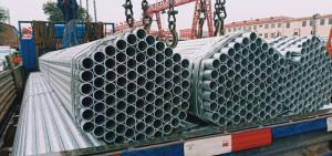 Wholesale carbon steel pipes: ERW Carbon Steel Pipes Welded Pipes for Construction Structural
