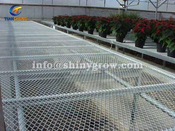 Welded Wire Mesh Bench Top &Amp; Expanded Metal Bench