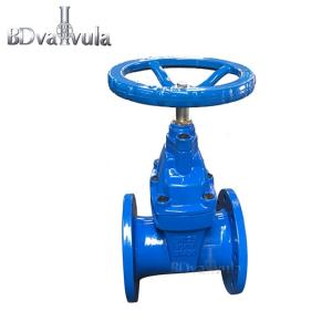 Wholesale din flange: DIN3352 F4 EPDM Cast Iron Flange Sluice Gate Valve