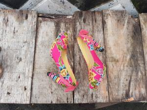 Wholesale Ladies' Dress Shoes: Batik Citra