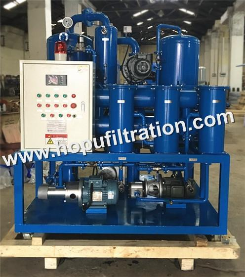 High-efficient Two Vacuum Insulating Oil Purifier, Power Plant Transformer Oil Filtration Machine