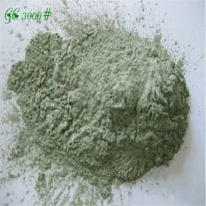 Wholesale ceramic machinery: 98.5% Green Silicon Carbide/SiC for Polishing JIS#3000