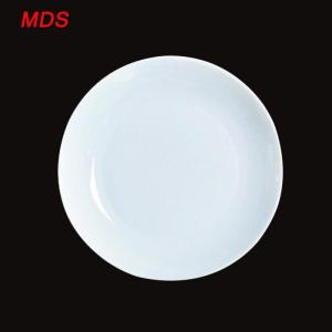 Wholesale Dinnerware: Nordic Style Daily Chef Wide-rimmed White Ceramic Plates for Sale