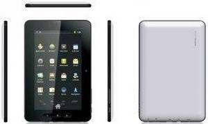 Wholesale mid umpc tablet pc: 5 Points Capacitive Screen 7 MID UMPC Tablet PC With Li-Polymer 4000mAh