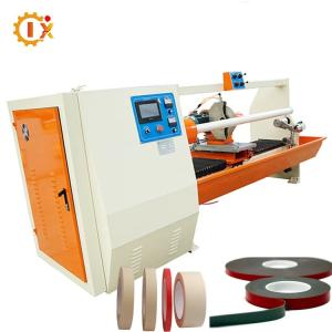 Wholesale electric train for park: GL-701 Automatic Tape Cutting Machine Bopp Tape Jumbo Roll Sealing Tape Cutter