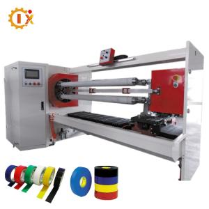 Wholesale paper rolls: GL- 709 Automatic PVC Tape / Medical Tape / Paper Tape Jumbo Roll Cutting Machine