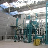 50T 80T 100T PLC Control Wheat Flour Milling Machine