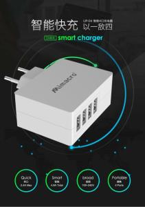 Wholesale apple charger: MIMACRO Multi-port USB Apple Android Huawei Compatible 5A EU Charger