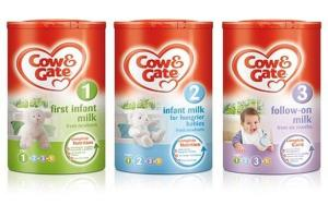 Wholesale Baby Food: Cow & Gate First Infant Milk Stage 1 900g