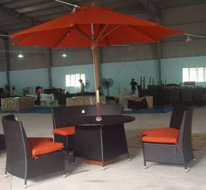 Wholesale table: Poly Rattan Table Chair