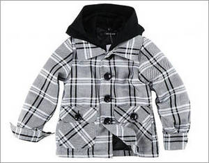 Wholesale thin quilt: Checked Jacket