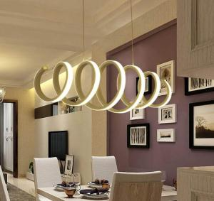 Wholesale led commercial light: Commercial LED Circular Ring Pendant Lighting Fixture