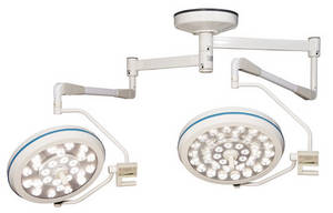 Wholesale surgical headlight: LED Surgical Light Dual-Arms LED7060