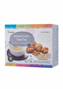 Wholesale tea: Walnut & Job's Tears Tea 18gx15/Case