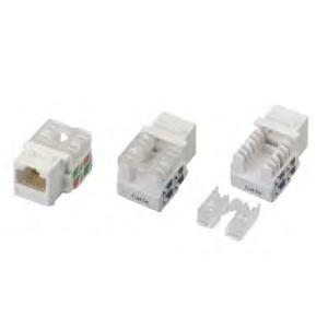 Wholesale industrial pins and punches: CAT6/5e UTP Keystone Jack 90degree