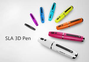 Wholesale 3d printing pen: SLA Resin 3D Printing Pen, 3D Drawing Pen